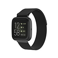 cheap -Watch Band for Fitbit Versa / Fitbit Versa Lite / Fitbit  Versa 2 Fitbit Milanese Loop Stainless Steel Wrist Strap