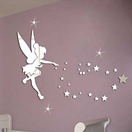 Decorative Wall Stickers - Mirror Wall Stickers 3D Bedroom / Dining Room