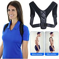Unisex Back Adjustable Spine Brace Posture Corrector Fitness Equipment Shoulder Strap Synthetic Fixed