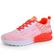 ราคาถูก -สำหรับผู้หญิง รองเท้ากีฬา ส้นแบน ปลายกลม Tissage Volant Sporty / ไม่เป็นทางการ สำหรับวิ่ง ฤดูร้อนฤดูใบไม้ผลิ ขาว / สีม่วง / สีบานเย็น