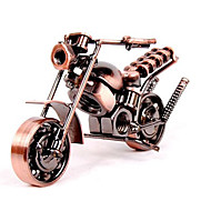 Diecast Vehicle Toy Motorcycle Motorcycle Car Retro Vintage Toy Gift / Metalic
