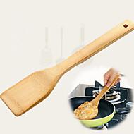 economico -di legno spatola Heatproof Antiaderente Utensili da cucina Uso quotidiano 1pc