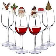 Holiday Decorations Christmas Decorations Christmas / Christmas Ornaments / Decorative Objects Cartoon / Party / Decorative Random Color 20pcs