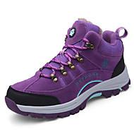ราคาถูก -สำหรับผู้หญิง รองเท้ากีฬา ส้นแบน ปลายกลม หนังสัตว์ Sporty / ไม่เป็นทางการ สำหรับวิ่ง / เดินป่า ฤดูหนาว สีม่วง / อาร์มี่ กรีน / สีเทา