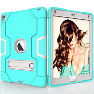 cheap -Case For Apple iPad Air / iPad 4/3/2 / iPad (2018) Shockproof / with Stand Back Cover Solid Colored TPU / PC / iPad (2017)