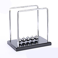 Kinetic Orbital Newton Cradle Balance Ball Educational Toy Creative Stress and Anxiety Relief Office Desk Toys Plastic & Metal Kid's Adults Boys' Girls' Toy Gift 1 pcs