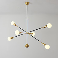 6-Light Sputnik / Industrial Chandelier Ambient Light Painted Finishes Metal New Design 110-120V / 220-240V