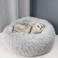 Dogs Cats Mattress Pad Bed Bed Blankets Mats & Pads Fabric Plush Soft Durable Solid Colored Camel Wine White