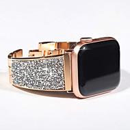 cheap -Luxury Diamond Strap For Apple Watch Series 5/4/3/2/1 Bracelet Strap Bling Czech Stone Women Lady Watchband For IWatch Band 44mm/40mm/42mm/38mm