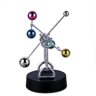 Kinetic Orbital Educational Toy Creative Stress and Anxiety Relief Office Desk Toys Plastic & Metal Kid's Adults Boys' Girls' Toy Gift 1 pcs