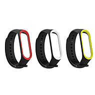 3Pack Xiaomi Mi Band 3 Mi 4 Bracelet Silicon Sport Replacement Strap