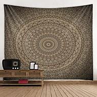 economico -mandala bohemien wall arazzo arte arredamento coperta tenda picnic tovaglia appesa casa camera da letto soggiorno dormitorio decorazione boho hippie psichedelico fiore floreale loto