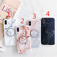 Case For Apple iPhone 11 / iPhone 11 Pro / iPhone 11 Pro Max with Stand / IMD / Frosted Back Cover Marble TPU