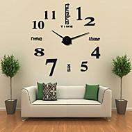 """abordables -horloge murale, acrylique de mode bricolage ronde intérieure 102 * 105cm (40"""" * 41"""")"""