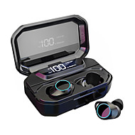 cheap -LITBest G02 TWS True Wireless Earbuds Wireless Noise-Cancelling Stereo Dual Drivers with Microphone HIFI for Sport Fitness