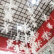 Christmas Three-Dimensional Snowflake Rope Ornaments Christmas Tree Hanging Decoration