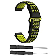 cheap -Watch Band for Approach S6 / Approach S5 / Approach S20 Garmin Sport Band Silicone Wrist Strap