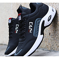 Men's Comfort Shoes PU Winter Casual Athletic Shoes Running Shoes Warm Slogan Black / Blue