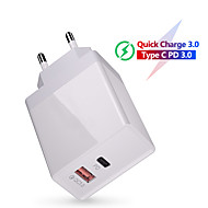 cheap -36W Quick Charge 3.0 USB Charger QC3.0 QC Type C PD  Fast Charging Wall Mobile Phone Charger For Samsung Huawei Xiaomi iPhone 11 Pro Max Samsung Huawei Xiaomi