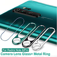 2 in 1 Camera Lens Protector Ring Tempered Glass Film for Xiaomi Redmi Note 8 Pro