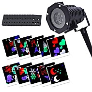 YWX IP65 Waterproof 6Watts Snowflake Christmas Projector Light for Home Garden Landscape Outdoor Lighting LED Projection Light