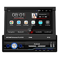 SWM 9702 7 inch 1 DIN Android 8.1 Car MP5 Player Car Mulitimedia Player Touch Screen GPS Built-in Bluetooth Support RCA / HDMI / FM2 MPEG / MPG / WMV MP3 / WMA / WAV JPEG for universal