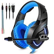 ONIKUMA K1-B Auriculares para juegos Con Cable Estéreo Dual Drivers Con Micrófono Con control de volumen DE ALTA FIDELIDAD De Videojuegos