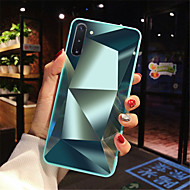 cheap -Case For Samsung A90/A80/A70/A60/A50/A40/A30/A20/A10 Shockproof / Mirror Back Cover Geometric Pattern Acrylic