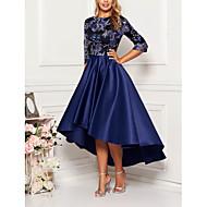 preiswerte -Damen Elegant & Luxuriös Swing Kleid - Druck, Geometrisch Midi