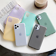 Etui Käyttötarkoitus Apple iPhone 11 / iPhone 11 Pro / iPhone 11 Pro Max Pölynkestävä Takakuori Yhtenäinen TPU