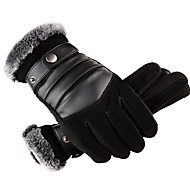 Men's Basic Fingertips Gloves - Solid Colored