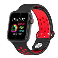 Smartwatch Digital Modern Style Sporty Silicone 30 m Water Resistant / Waterproof Heart Rate Monitor Bluetooth Digital Casual Outdoor - Black / Gray Black / Green Black / Red