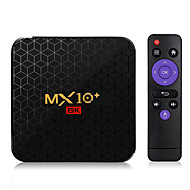 MX10 Plus Android 9.0 Smart TV Box Allwinner H6 6K 4GB /64GB 2.4G / 5G WiFi BT4.0 100M LAN USB3.0 H.265 VP9 Media Player