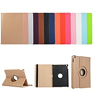 cheap -Case For Apple iPad Air / iPad 4/3/2 / iPad Mini 3/2/1 360° Rotation / Shockproof / with Stand Full Body Cases Solid Colored PU Leather