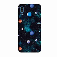 Case For Samsung Galaxy A50(2019) / J6 Plus 2018 / S10 Plus Pattern Back Cover Planet TPU for A10(2019) / A20(2019) / A40(2019) / S10 / S10 Plus / J4 Plus 2018 / Note 10 Plus