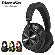 cheap -Bluedio T6S Bluetooth Headphones Active Noise Cancelling Wireless Headset for Phones and Music with Voice Control