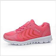 ราคาถูก -สำหรับผู้หญิง รองเท้ากีฬา ส้นแบน ปลายกลม ตารางไขว้ ฤดูใบไม้ร่วง & ฤดูหนาว สีดำ / สีเทาเข้ม / สีบานเย็น