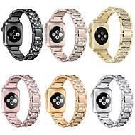 cheap -For Apple Watch band 40/38mm  42/44mm women Diamond Band for Apple Watch series 5 4 3 2 iWatch bracelet stainless steel strap