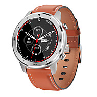 NO.1 DT78 Men Women Smartwatch Android iOS Bluetooth Waterproof Touch Screen Heart Rate Monitor Sports Information Exercise Reminder 1.3inch full circle screen