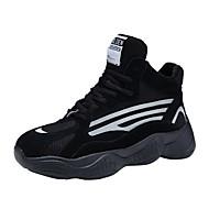 ราคาถูก -สำหรับผู้หญิง รองเท้ากีฬา ส้นแบน ปลายกลม ตารางไขว้ ไม่เป็นทางการ / รองเท้าพ่อ สำหรับวิ่ง / การออกกำลังกายและการฝึกอบรมข้าม ฤดูใบไม้ผลิ / ฤดูใบไม้ร่วง & ฤดูหนาว สีดำ / สีเทา