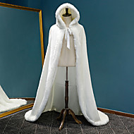 Sleeveless Faux Fur Wedding / Party / Evening Women's Wrap With Solid Capes