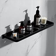 Bathroom Shelf Creative Contemporary Aluminum 1pc Single Wall Mounted