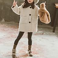 جاكيت و معطف لون سادة للفتيات أطفال