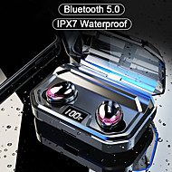 cheap -KawBrown X10 Sports Outdoor Wireless Stereo with Microphone with Charging Box Waterproof IPX4 Sweatproof for Mobile Phone