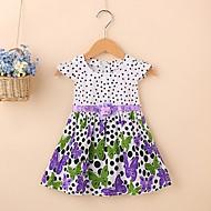 فستان كم قصير ورد أساسي للفتيات طفل