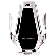 superkondensator bil trådlös laddare automatisk klämma 15w snabbladdningsfäste för iphone xs xr x samsung s10 / 10 s9 / 8 note9