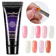 cheap -1pc 15ml Quick Building Nail Extension Gel Acrylic Poly UV Gel UV Builder Nail Tips Gel Varnish Slip Solution