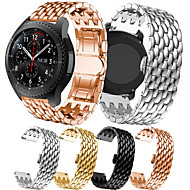 cheap -Luxury Stainless Steel Watch Band For Samsung Galaxy Watch 46mm / Gear S3 Classic / Frontier Replaceable Bracelet Wrist Strap Wristband