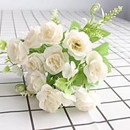 umělé květiny 1 větev klasické moderní moderní růže stolní květina