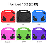 cheap -Case For Apple iPad 10.2''(2019) Shockproof Back Cover Solid Colored EVA